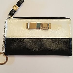 Victoria's Secret black and white wristlet
